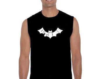 Men's Sleeveless Shirt - BAT - BITE ME