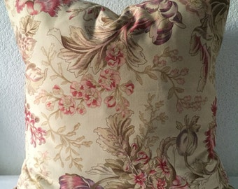 Set of 2 Pillow Covers 18x18 inch-Free US Shipping - Multicolored Floral