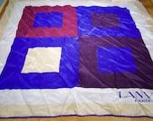 Vintage Authentic Lanvin Silk Scarf