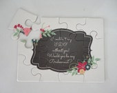PUZZLE - Bridesmaid Proposal, Will you be my Bridesmaid, Bridal Party Proposal, Wedding Party