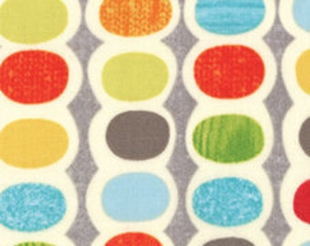 Mod Century by Jenn Ski - Grey Pods- 1/2 Yard cotton quilt fabric 516