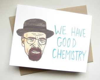 Breaking Bad Chemistry// Walter White Card