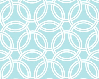 Swirl (Turquoise) - BEKKO - Trenna Travis - Michael Miller Fabrics - 1 Yard