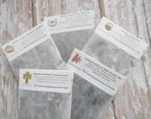 Tea Samples Gift Pack / Choose 5 / Organic Loose Leaf / Tea Lover Gift Idea