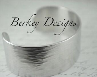 Design Your Own Bracelet - One Inch Hand Stamped Bracelet by Berkey Designs