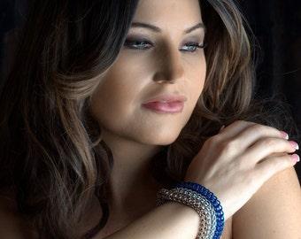 Triple Full Persian Bracelet