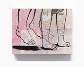 Hand Stand (Original Painting)