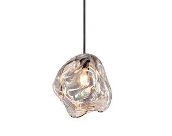 Pendant Light, 1 Light, Hanging Light, Blown Glass Lighting, Lighting