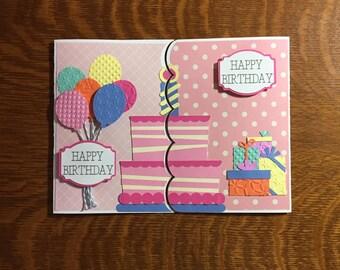 twin birthday cards  etsy, Birthday card