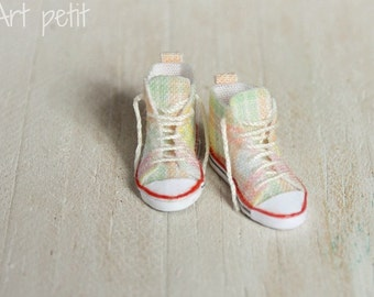Sneakers for dollhouse scale