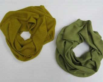 4ply 50/50 cashmere silk scarf (snood)
