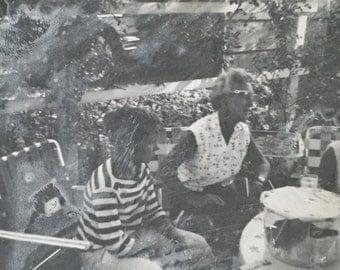 Original Vintage Photograph Summer Suppers 2