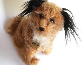 Vintage Benji Stuffed Dog