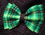 St Patricks Day Hair Bow