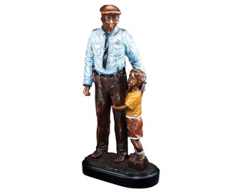 Police Statue Etsy