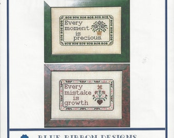 "Clearance-""Precious Growth"" Counted Cross Stitch by Blue Ribbon Designs"