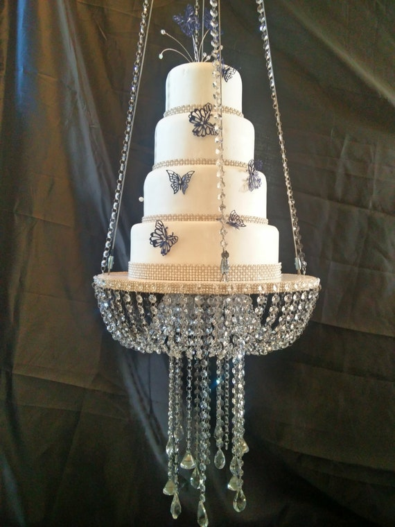 Hanging Chandelier Cake Stand