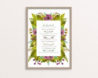 Home Blessing Print Set