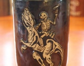 20% off Raptor and Skeleton Tumbler - Approximately 20 oz
