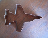 Fighter Jet, Copper Cookie Cutter, F-18, Pilot, Jet, Plane, Military, Air Force, Solid Copper, Omaha, NE, USA