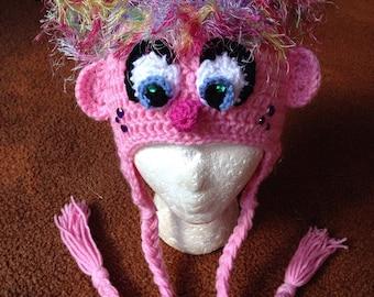 Abby Kadabby Crochet Earflap Beanie