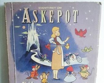 SALE Vintage Cinderella collectors magazine childrens book Richs