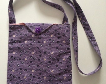 Lined hands free bag