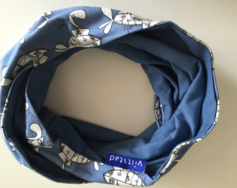 Infinity scarf small 'Submarine'