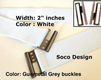 White Belt, White Waist belt, Stretch waist belt, Elastic waist belt, Stretch waist belts, Women belts, White elastic belt, Plus size belt