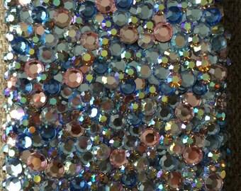 RESERVED 6s Custom: Swarovski stained glass case