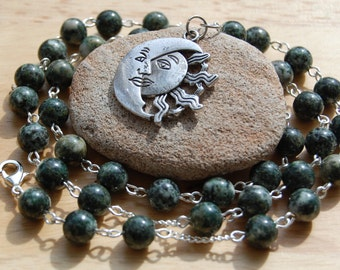 Preseli Bluestone Witch's/Druid's Ladder and Necklace. Stonehenge Myth Magic Pagan Wicca Witch Druid Ancestors Sacred Britain Wales Welsh