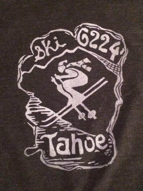 Ski Tahoe 6224' unisex light weight hoodie