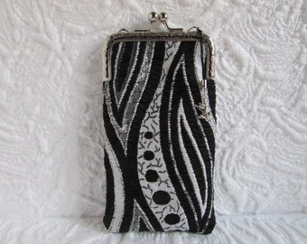 166A - iPhone 6 Case Fabric, iPod Touch Case, Cell Phone Case, Samsung Galaxy Case, cover handmade
