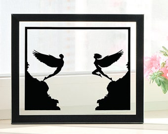 Angels Art, Gift Ideas for Couples Anniversary, 1st Anniversary Gift Ideas for Wife, First Wedding Anniversary Gift, Unique Wedding Gifts