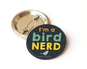 Bird nerd badge - bird lo...