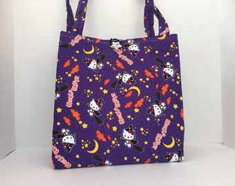 Hello Kitty Halloween Tote Bag