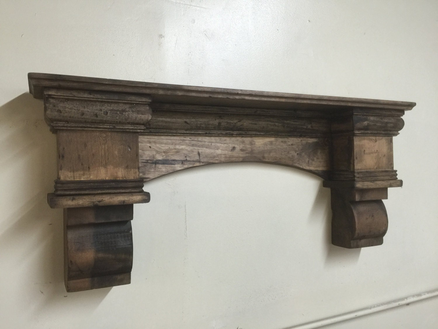 rustic arch mantle fancy arch mantle fireplace mantle with