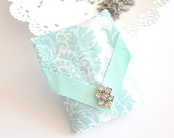 Handmade French Lavender Sachet with Vintage Earring, Drawer Freshener, Gifts for Her, Bachelorette, Bridal Shower Favors