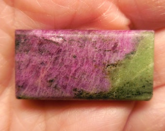 RUBY in ZOISITE (16.32x31.24x6.1mm)