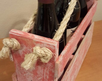 """Wine Carrier - """"Red No 7"""""""