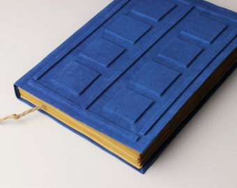 SALE!!! Big River Song's Journal, Tardis Journal, large diary,  big notebook, journal diary,  blank book, old paper, 9x6inch