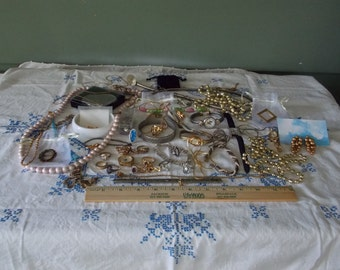 Box lot of Misc. Jewelry