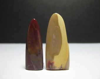 Sale - 2 nos. of Mookaite Tongue - 7174