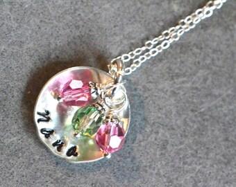 personalized mimi, mimi jewelry, mimi necklace, mimi gift, custom name pendant