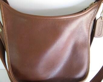 Vintage COACH Purse/LEATHER SHOULDER Bag/Coach Ladies Pocketbook/Coach Leather Purse/Coach Handbag/Leather Handbag/Shoulder Strap Purse/Bags