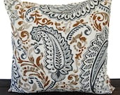 Pillow, Throw Pillow, Pillow Cover, Cushion, Decorative Pillow, Shannon Caramel Brown Cream Gray traditional contemporary modern decor