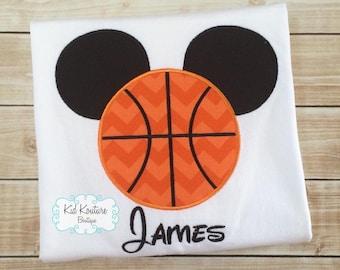 Basketball Mickey shirt