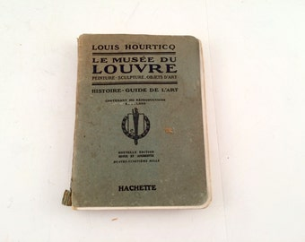 1921 Louvre Guide, in French