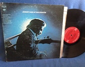 "Vintage Johnny Cash - ""At San Quentin"", Vinyl LP Record Album, Original 1969 2 Eye Press, I Walk the Line, Folsom Prison Blues, Country Rock"