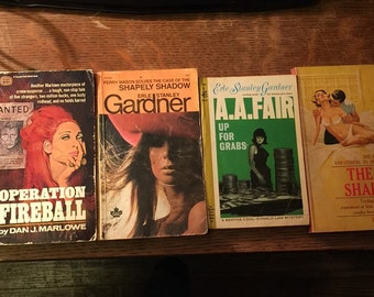 Lot of 6 1960s Paperback Books